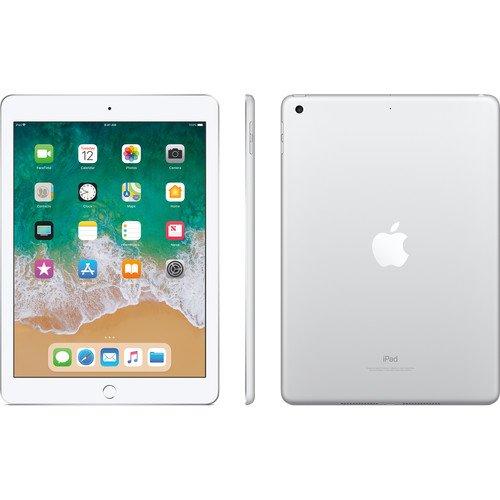 """PC Hardware : Apple 9.7"""" iPad (Early 2018, 128GB, Wi-Fi + 4G LTE, Silver)"""