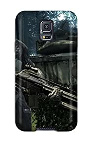 Premium Crysis Back Cover Snap On Case For Galaxy S5