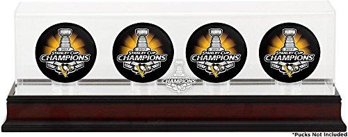 penguins hockey puck display case - 2