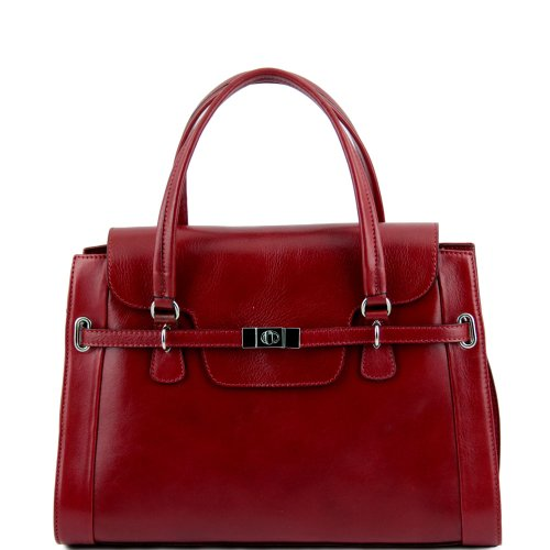 TUSCANY LEATHER, Borsa a spalla donna rosso rosso Taille Unique
