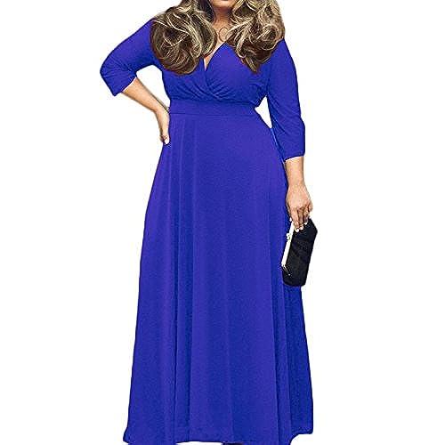 5x Plus Maxi Dresses Amazon
