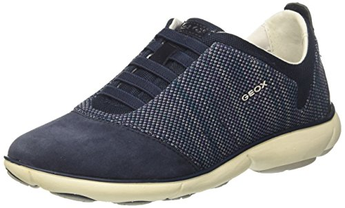 Geox Women's D Nebula C Low-Top Sneakers, Blue (Navy), for sale  Delivered anywhere in Canada