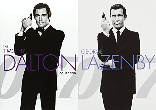 007 Collection Timothy Dalton James Bond DVD 007 George Lazenby Licence to Kill, The Living Daylight & On Her Majestey's Secret Service