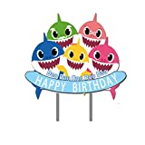 Shark Birthday Cake Topper