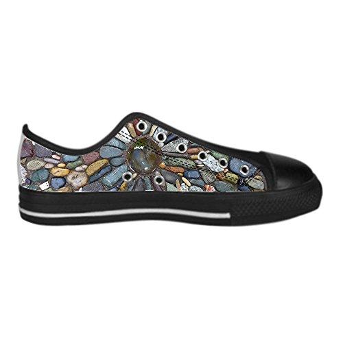 Dalliy Pebble Mens Canvas shoes Schuhe Lace-up High-top Sneakers Segeltuchschuhe Leinwand-Schuh-Turnschuhe E