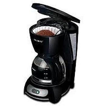 Mr. Coffee 5-Cup Programmable Coffee Maker, Black