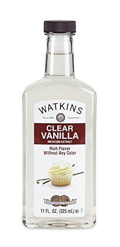 JR Watkins Imitation Clear Vanilla Extract 11 Ounce (Packaging May Vary)