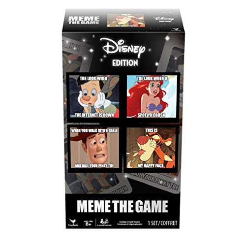 Cardinal 6045362 The Disney Meme Game, Multicolor, One Size