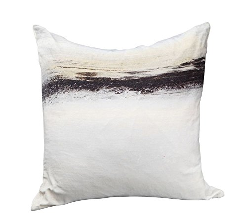 Fog Velvet Cushion W/ Feather Multi Dimensions: 25''W x 0.4''D x 25''H Weight: 5 lbs by Moe's Home Collection