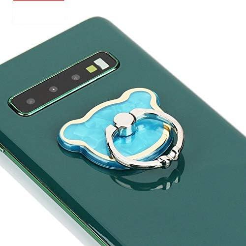 電気めっきされたホタテ貝のリングのバックルブラケット新しいとして永続的な小さくて便利なAndroidアップル携帯電話タブレット (Color : A, Size : M)
