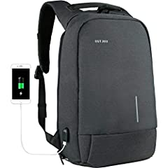 Outstanding Features: 1.It is absolutely an excellent anti-theft backpack.It is hard to the bad guys to steal your stuffed in the backpack and perfectly secure your stuffs well. 2.Special material with Water Repellent outer fabric can protect...