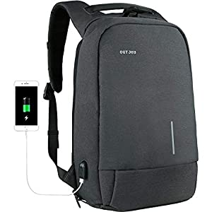 ... OUTJOY Backpack for Men Anti-Theft Laptop Backpack Computer Backpack.  upc 652670803858 product image1 59c17b14c6876