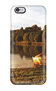 Mary P. Sanders's Shop Premium Protection Boat At The Lake Case Cover For Iphone 6 Plus- Retail Packaging