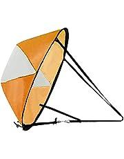 Sharplace 102 cm (42 inç) rüzgar yönünde rüzgar sail seti, katlanabilir kano, rüzgar yelkeni, kano, sup, kürek sörfü, tahta aksesuarı, kolay kurulum ve kullanım, hızlı, kompakt ve