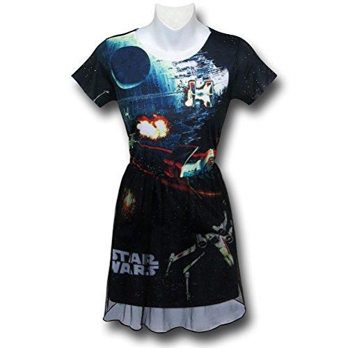 Star Wars Space Wars Women's Dress- Medium