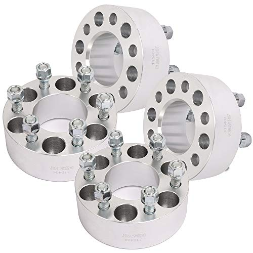 ECCPP Replacement for 6 Lug Wheel Spacer Adapater 6x4.5 Wheel Spacer (4) 2
