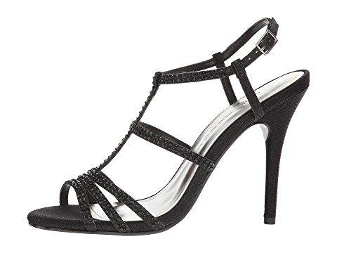 Black Gold Toe Synthetic Groovy black Caparros Women Open Sandals tXqxZnn70w