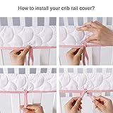 Crib Rail Cover Protector Safe Teething Guard Wrap