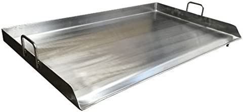 Amazon Com 36 Stainless Steel Griddle Flat Top Taco Grill Plancha Pan For Triple Burner Garden Outdoor