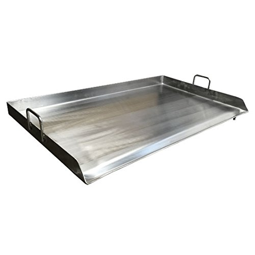 Heavy Duty 35'' Stainless Steel Flat Top Flattop Griddle Grill for Triple Burner by Generic (Image #3)