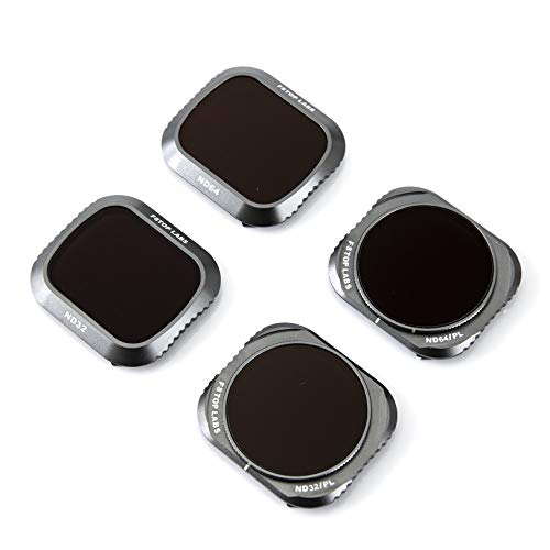 Lens Filters for DJI Mavic 2 Pro Camera Lens Set, Multi Coated Filters Pack Accessories ND32, ND64, ND32/CPL, ND64/CPL (4 Pack) Upgraded: Works with Gimbal Cover
