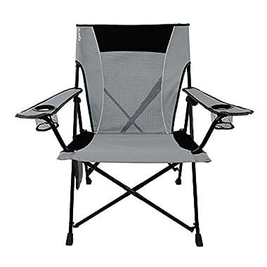 Kijaro Dual Lock Chair, Hallett Peak Gray