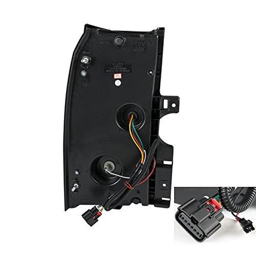 Led Spec-D Tuning LT-TAH15JMLED-TM Black Tail Light