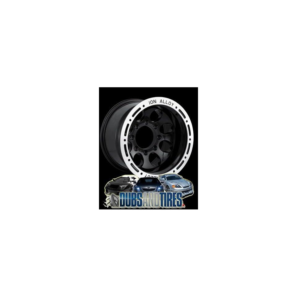 15 Inch 15x10 Ion Alloy wheels STYLE 174 Black wheels rims