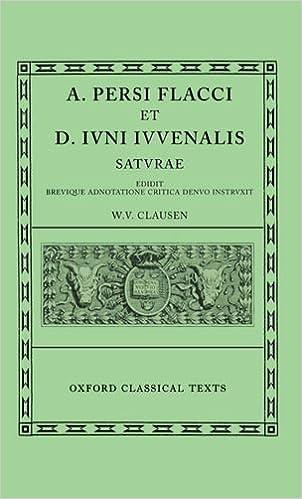 Persius and Juvenal Saturae