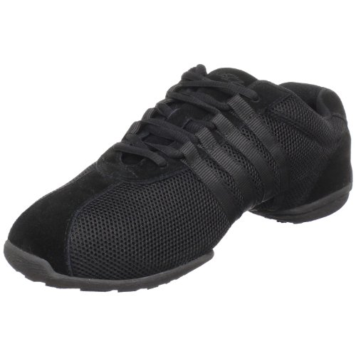 SANSHA Dyna-Site Dance Sneaker,Black,19 (17 M US Women's/14 M US Men's)