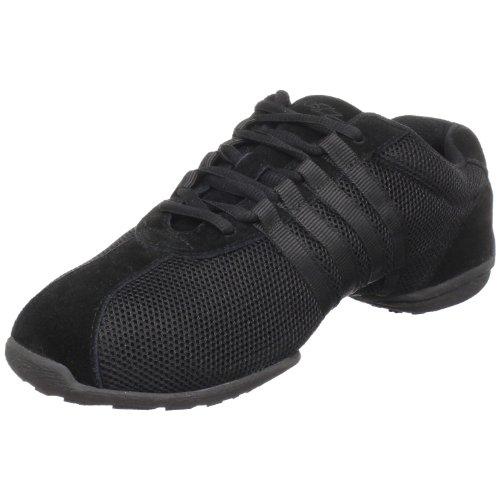 SANSHA Dyna-Site Dance Sneaker,Black,16 (14 M US Women's/11 M US Men's)