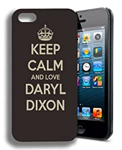 Keep Calm Daryl Dixon Funny the Walking Dead Inspired Iphone 4 Case