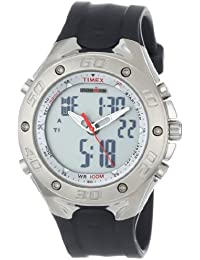 Mens T5C5519J Ironman Combo Twincept Resin Strap Watch