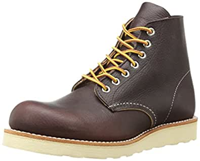 "Red Wing Heritage Round 6"" Boot ,Briar Oil Slick,7.5 D(M) US"
