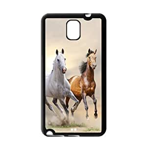 Custom Cool Running Horse Snap On Protection TPU Case Cover For Samsung Galaxy Note 3