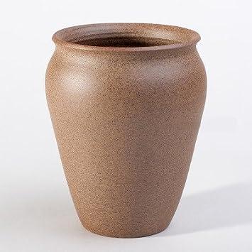 amazon com ceramic unglazed handmade planter succulent flowerpot