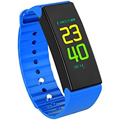 Nclon Sports Smart Watch Activity Tracker Smart Wristband Pedometer Sleep Monitor Fitness Bracelet Ip67 Waterproof Calorie Counter Bluetooth For Kids Estimated Price -