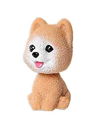 YONGYAO Nuovo Cartoon Cucciolo, Scuotendo La Testa Bambola Auto Decorazione Domestica Decorazione Decorazione Studente Regalo Auto Forniture-Bomei