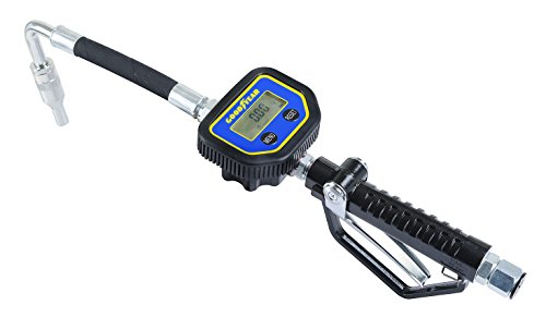 - GOODYEAR Digital Oil Control Valve Meter Nozzle 10 GPM / 35 LPM Heavy Duty Air Operated Pneumatic 1/2