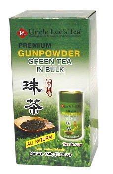 Premium Bulk Gunpowder Green Tea-150 g Brand: Uncle Lees Tea