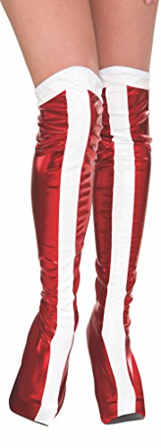 Rubie's Women's DC Superheroes Boot-Tops, Wonder Woman , One Size]()