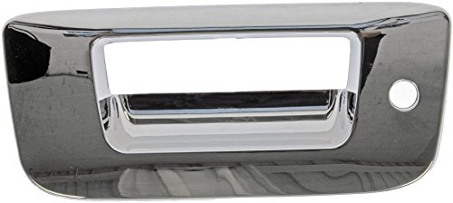 Dorman 91124 Chevrolet/GMC Chrome Replacement Tailgate Handle with Keyhole ()