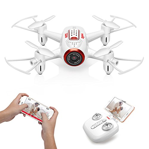 DoDoeleph Mini RC Quadcopter Drone, Syma X22W 6-Axis Gyro Remote Control Nano Drone for Kids Adults Beginners - Headless Mode, 3D Flip, One Key Return(White) by DoDoeleph