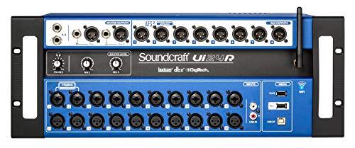 - Soundcraft Ui24R 24 Input Digital Soundboard Mixing Console Mixer Church/School