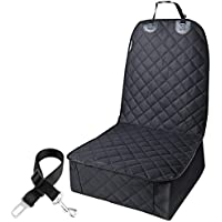URPOWER Pet Front Seat Cover for Cars 100%waterproof Nonslip Rubber Backing with…