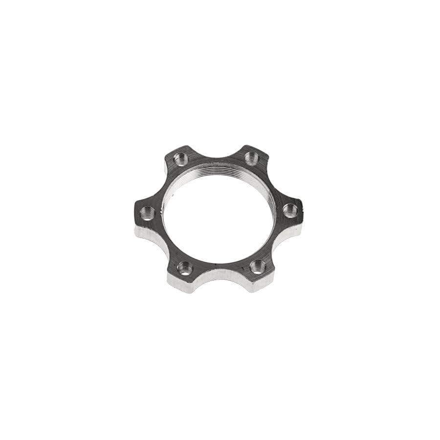 MagiDeal 34MM Aluminium Alloy MTB Bike Bicycle Freewheel Threaded Hub Disk Disc Brake Rotor Adapter 6 Bolts