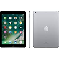 Apple iPad 9.7 with WiFi, 128GB- Space Gray (2017 Newest Model) (Certified Refurbished)