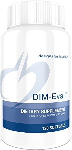 Designs for Health DIM-Evail - 100mg Diindolylmethane without Soy (120 Softgels)