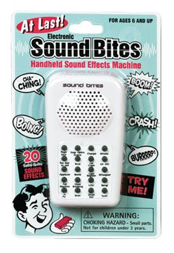 Toy / Game Westminster Toys Fantastic Electronic Sound Bites - Shock, Amuse, And Annoy Your Friends Or Family (Sound Effes)