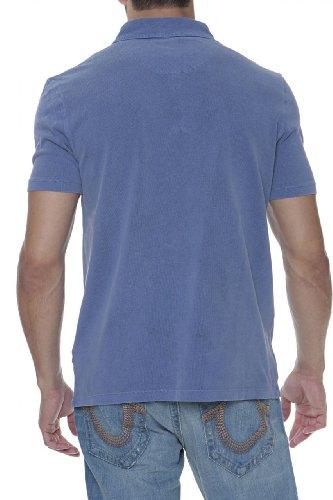 Aeronautica Militare Aero Club 100 Anni Polo Shirt MINO, Color: Dark blue, Size: S